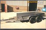 Australian Made Tandem trailers & Towbar fitting.